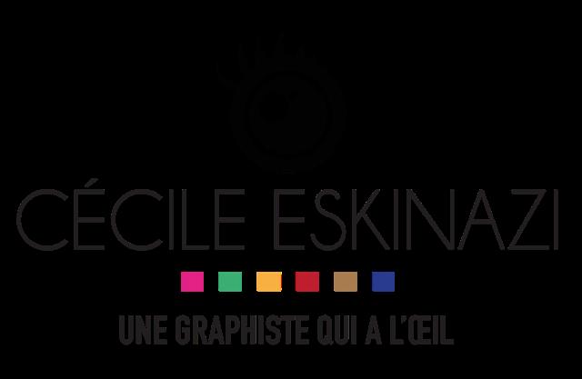 Logo Cécile Eskinazi Graphiste