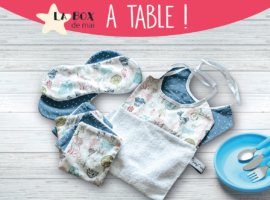 BabyCréa box mai repas table