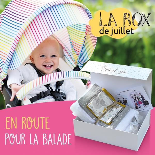 BabyCréa Box juillet