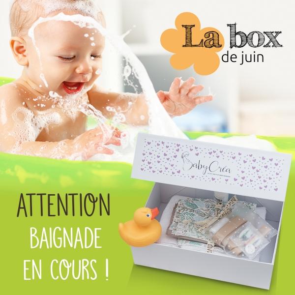 BabyCréa box juin accueil