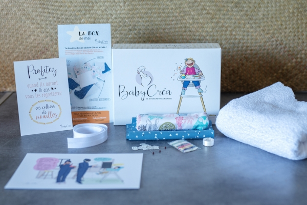 Les produits de la BabyCréa box de mai