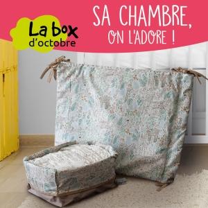 La BabyCréa box d'octobre chambre