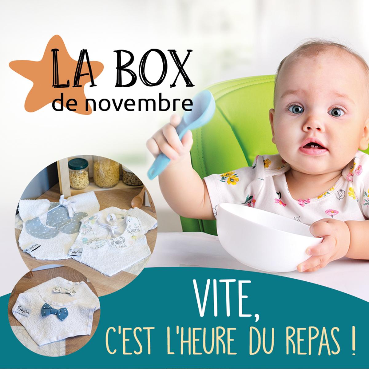 box novembre repas bavoirs