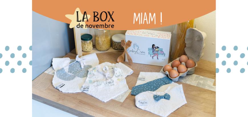 box novembre repas bavoirs bee wraps
