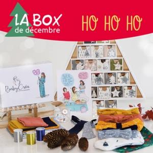 Babycrea Box Decembre page mois