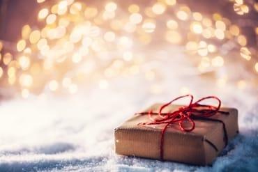 Cadeau en papier kraft